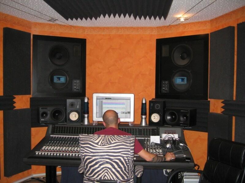 Unser Soundmaster Emi bei der Arbeit