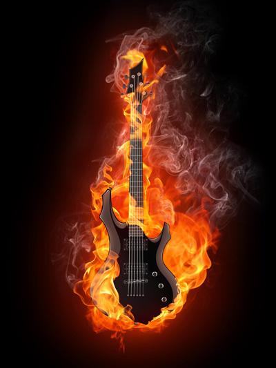 burning guitar Song von Limoband 2010 der Internetband aus Deutschland